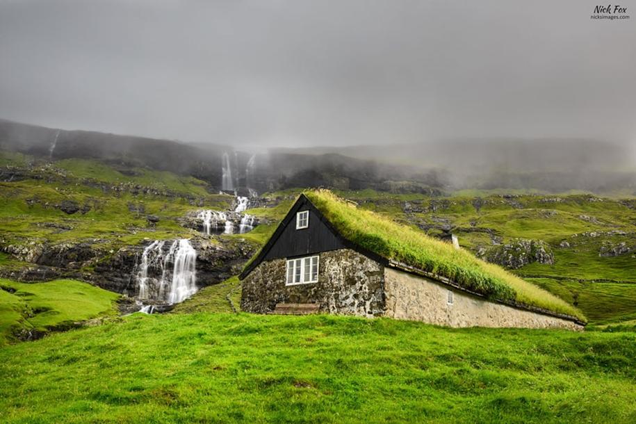 Fabulous beauty Scandinavian homes with green roofs 11