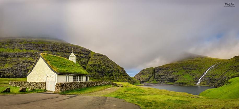 Fabulous beauty Scandinavian homes with green roofs 16