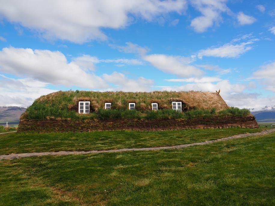 Fabulous beauty Scandinavian homes with green roofs 18