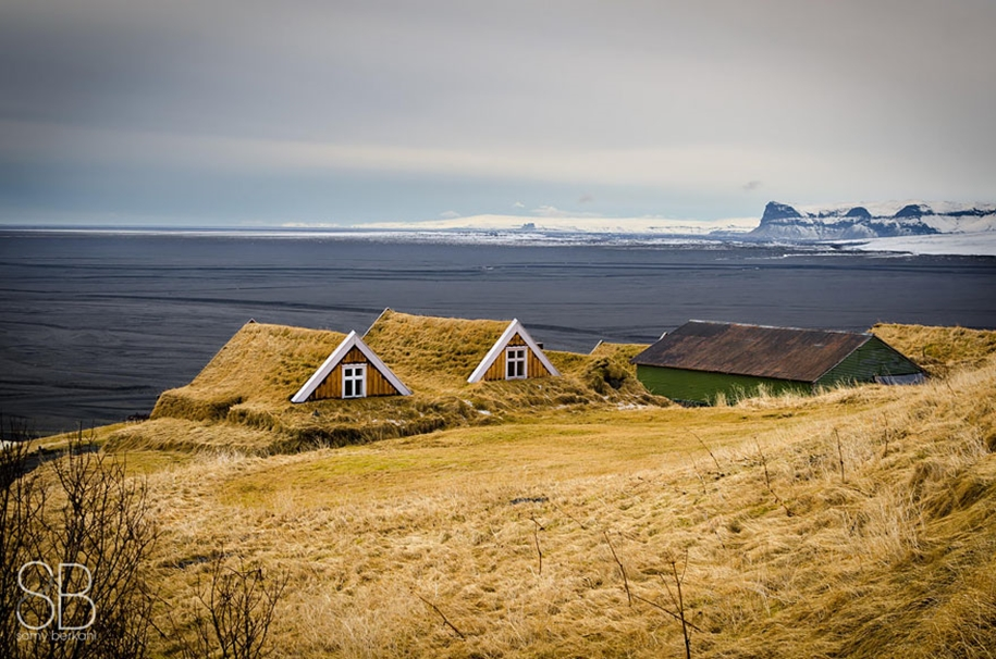 Fabulous beauty Scandinavian homes with green roofs 23