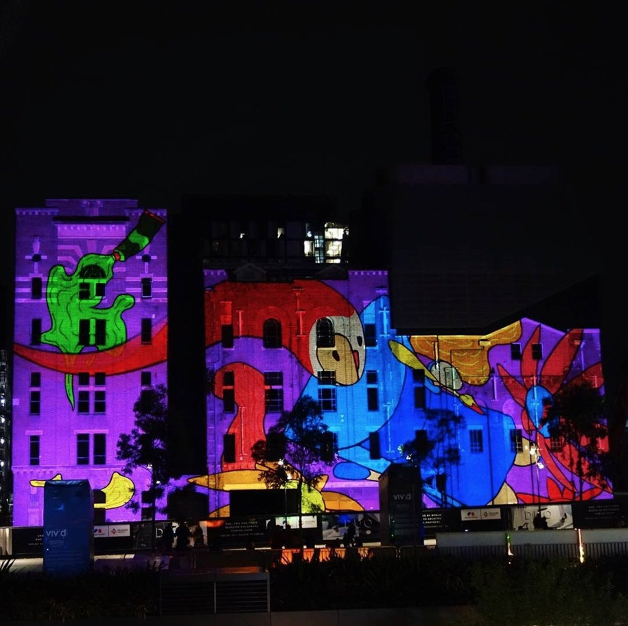 Festival of light Sydney, Vivid Sydney 2016_10