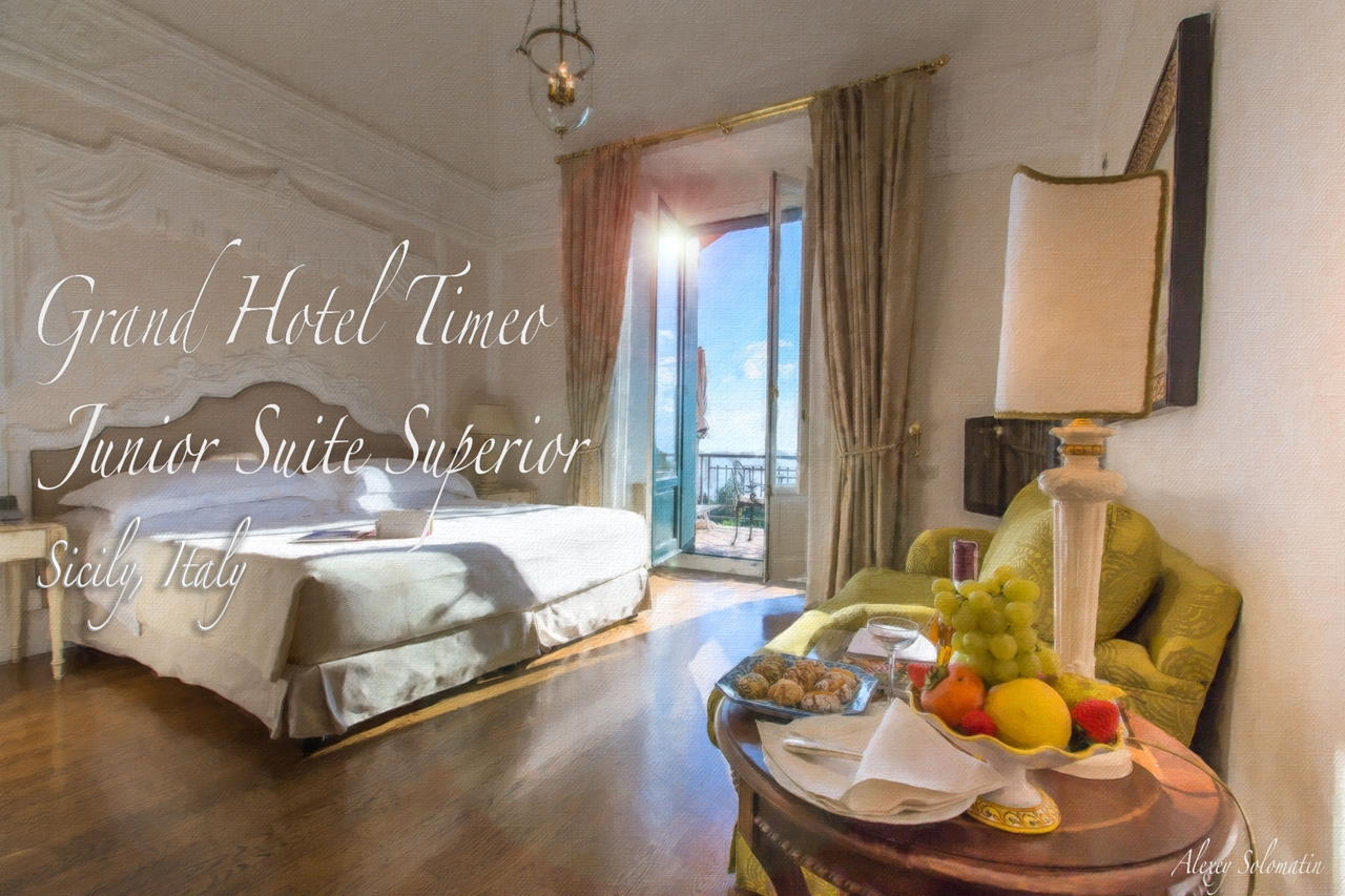 Belmond Grand Hotel Timeo. Junior suite Superior