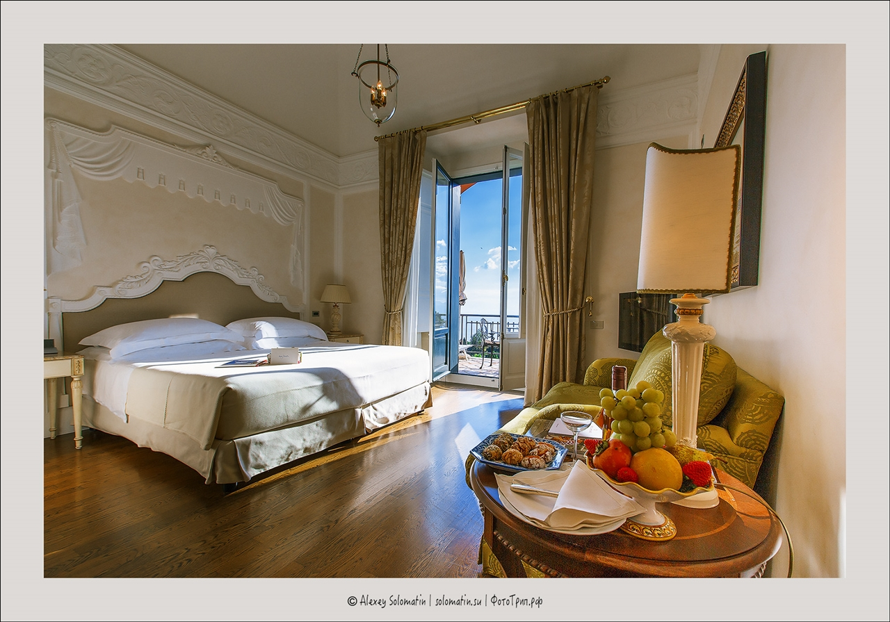 Grand Hotel Timeo. Junior suite Superior 14