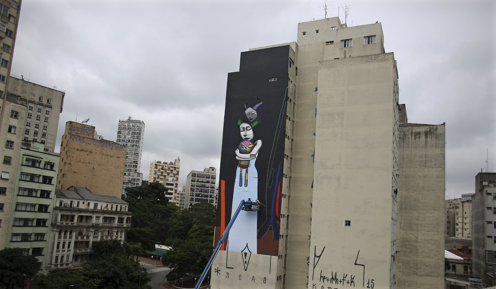 Interesting street art from the streets of different cities 11