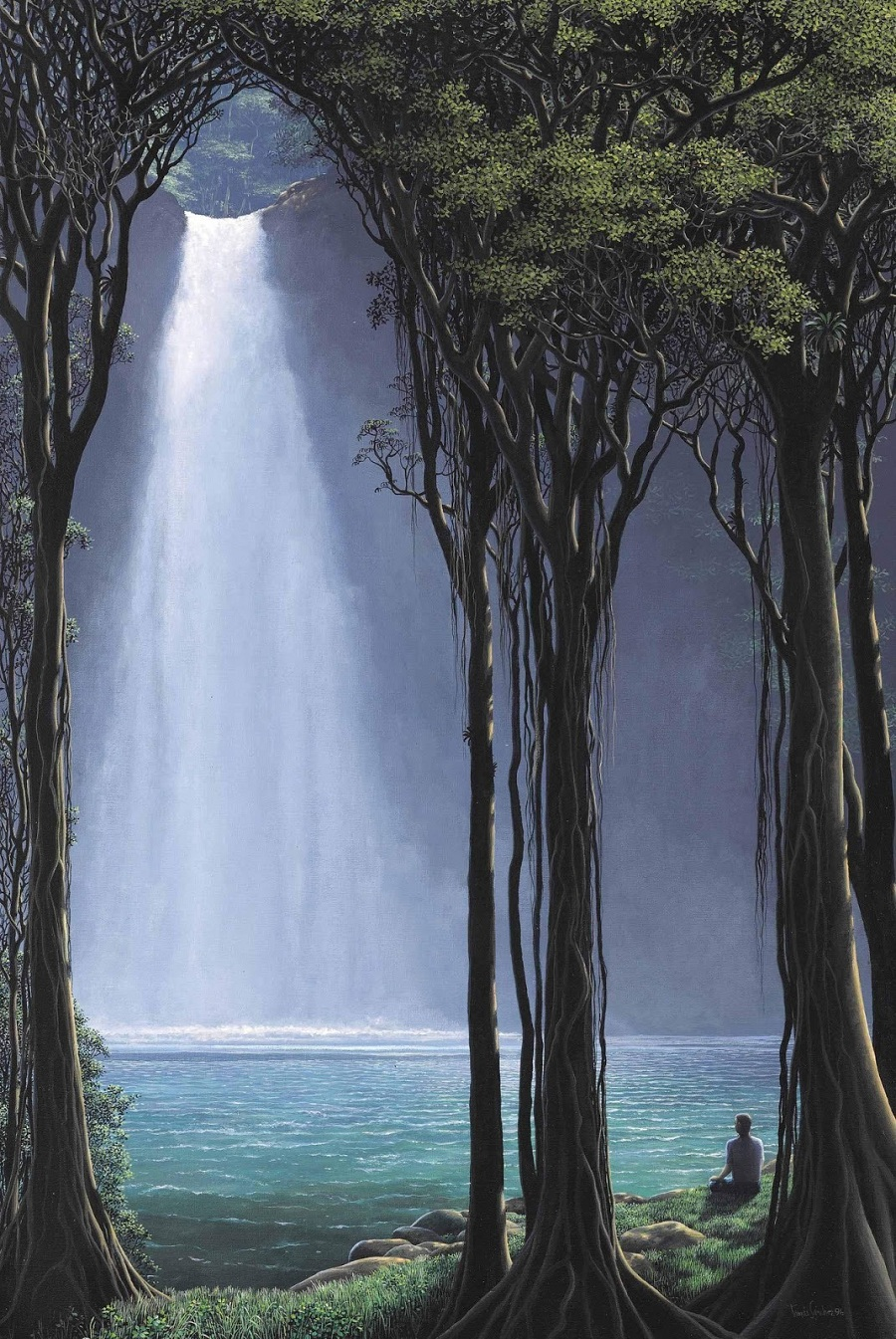 Jungles and waterfalls. the best work of Thomas Sanchez 13