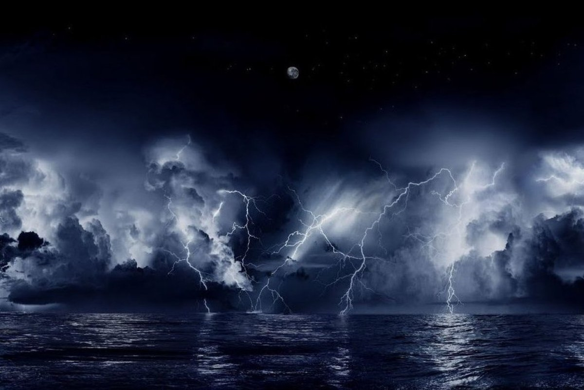 Natural phenomenon in Venezuela. the Lightning of Catatumbo 01