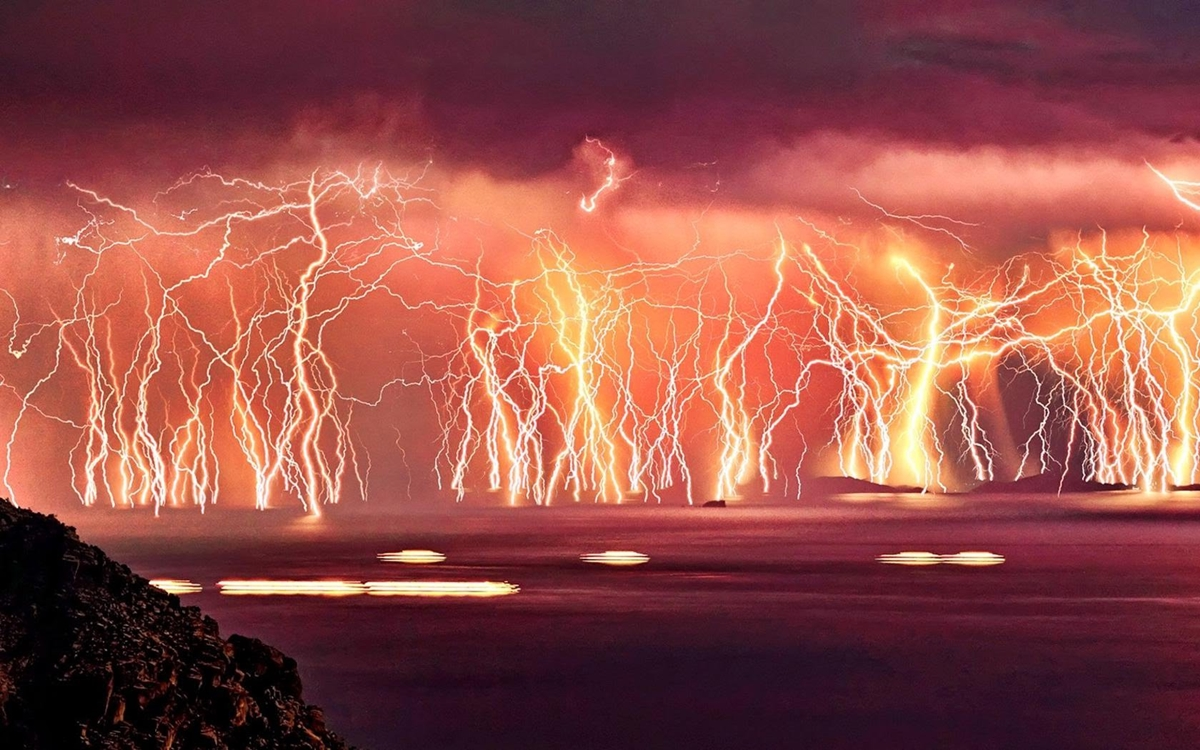 Natural phenomenon in Venezuela. the Lightning of Catatumbo 04