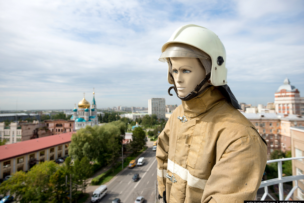 Omsk 300 years. The views of the city from the height 19