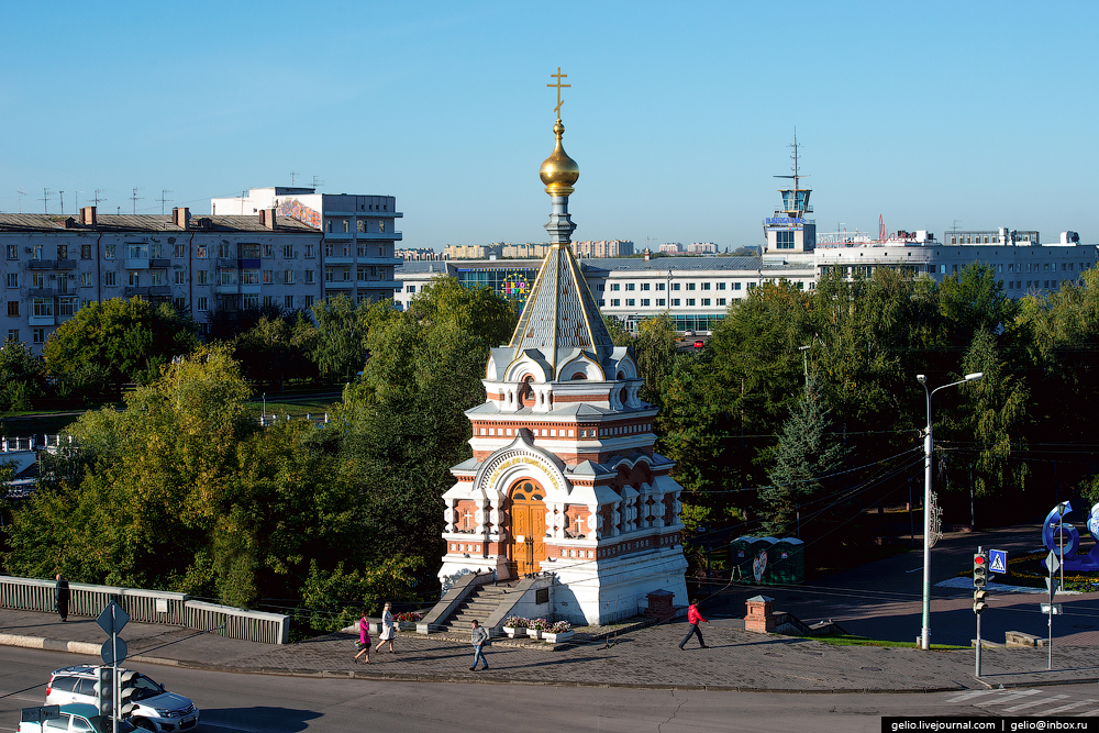 Omsk 300 years. The views of the city from the height 31