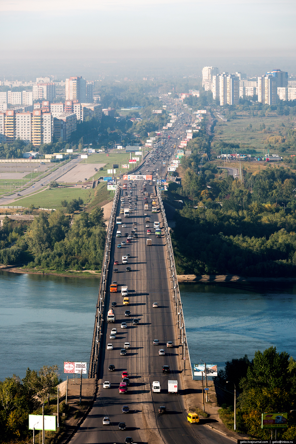 Omsk 300 years. The views of the city from the height 57