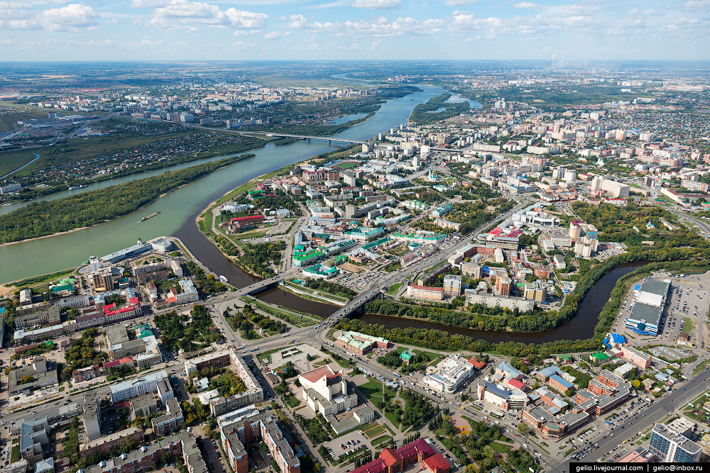 Omsk with height 03