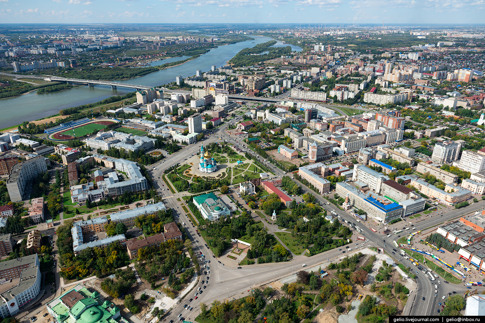 Omsk with height 04