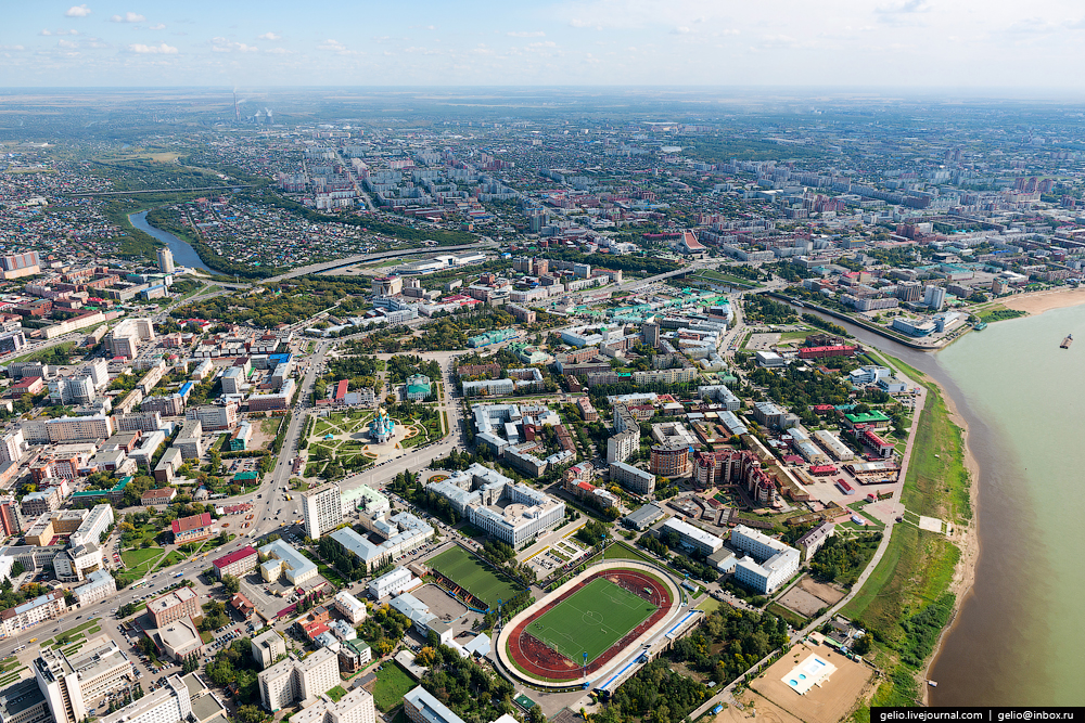 Omsk with height 08
