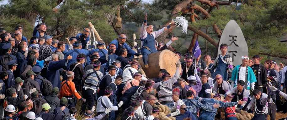 Onbashira-Matsuri — Japanese festival of dangerous 04