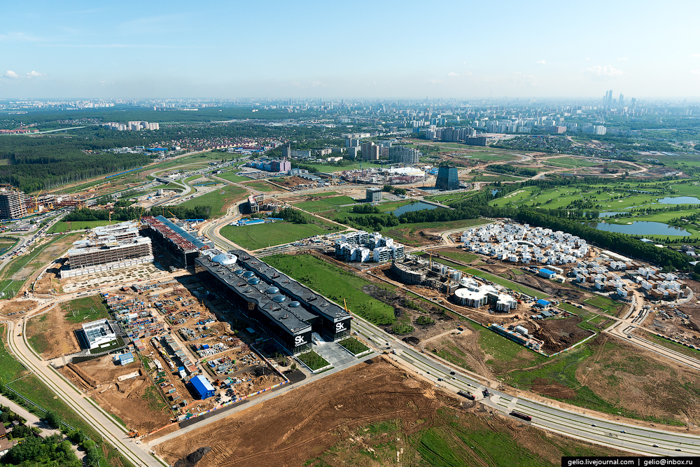Panorama SKOLKOVO with height 02