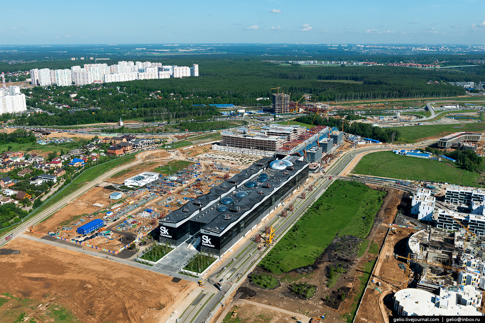 Panorama SKOLKOVO with height 05