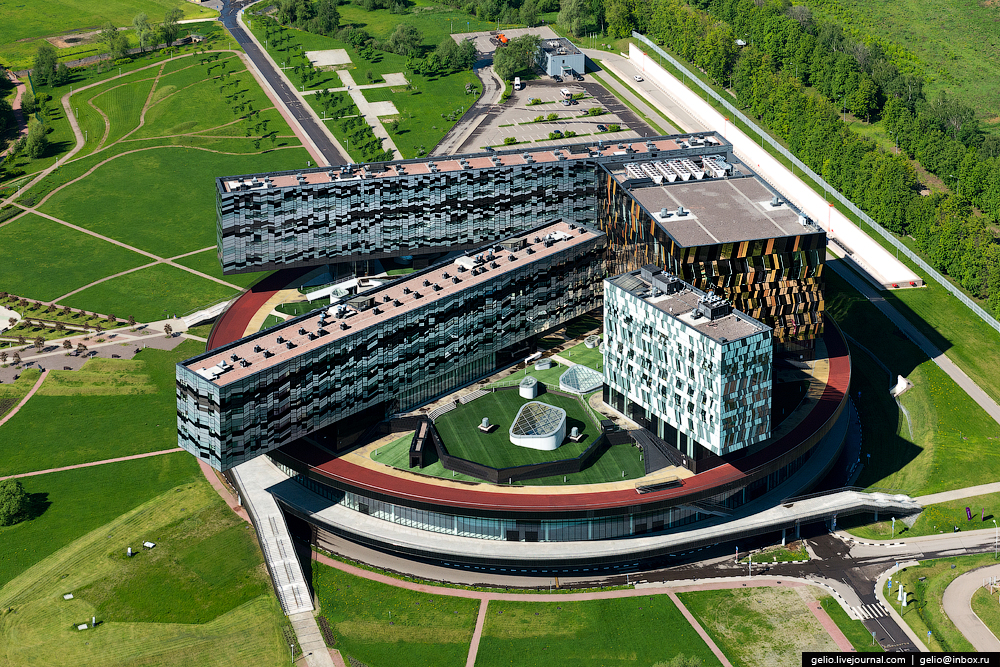Panorama SKOLKOVO with height 21