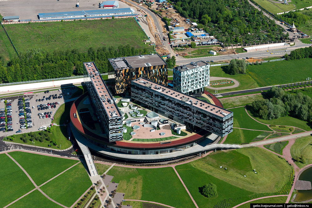 Panorama SKOLKOVO with height 26