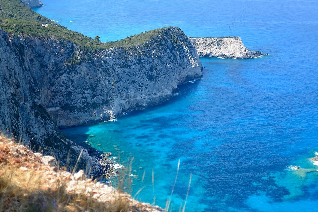 Picturesque beaches of the Greek island of Lefkada 06