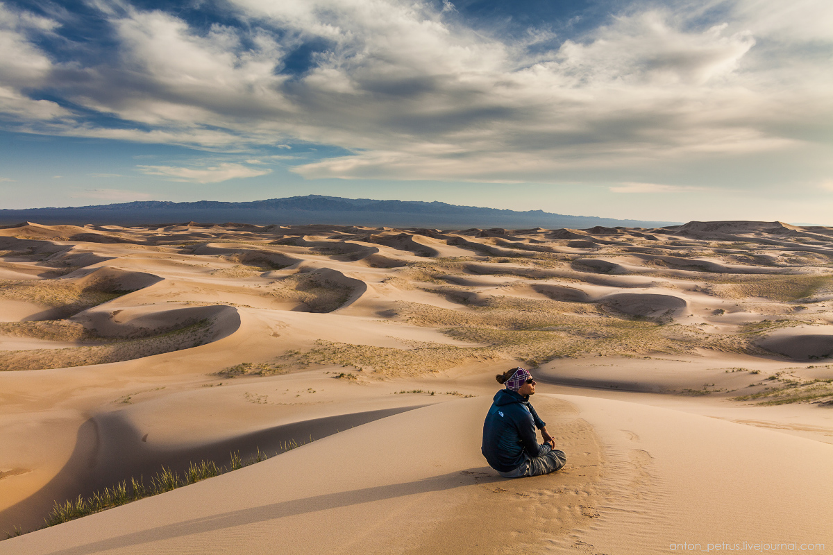 Singing Sands of the Gobi desert 10