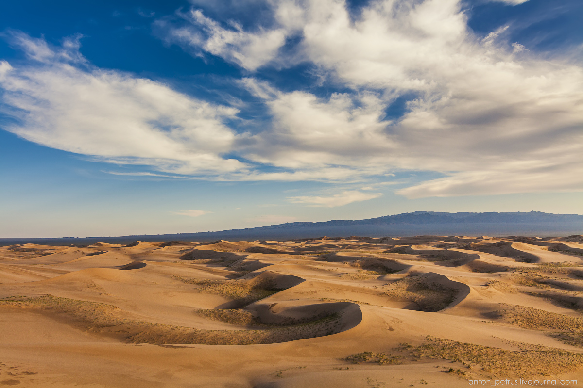Singing Sands of the Gobi desert 11