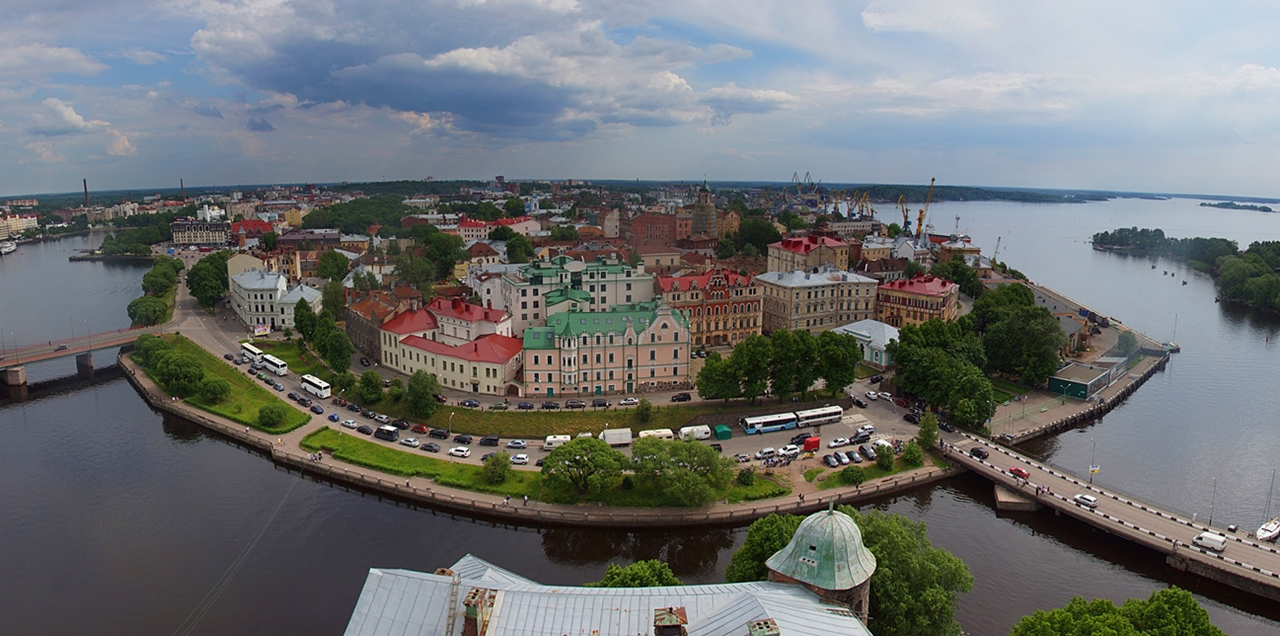 The city of Vyborg and the mon repos Park 02