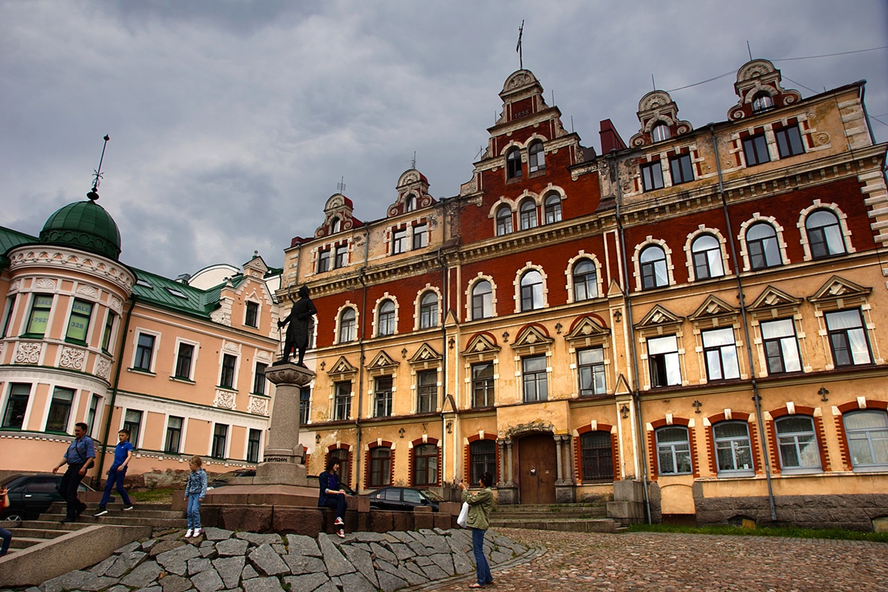The city of Vyborg and the mon repos Park 04