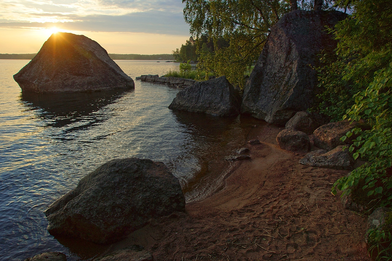 The city of Vyborg and the mon repos Park 15