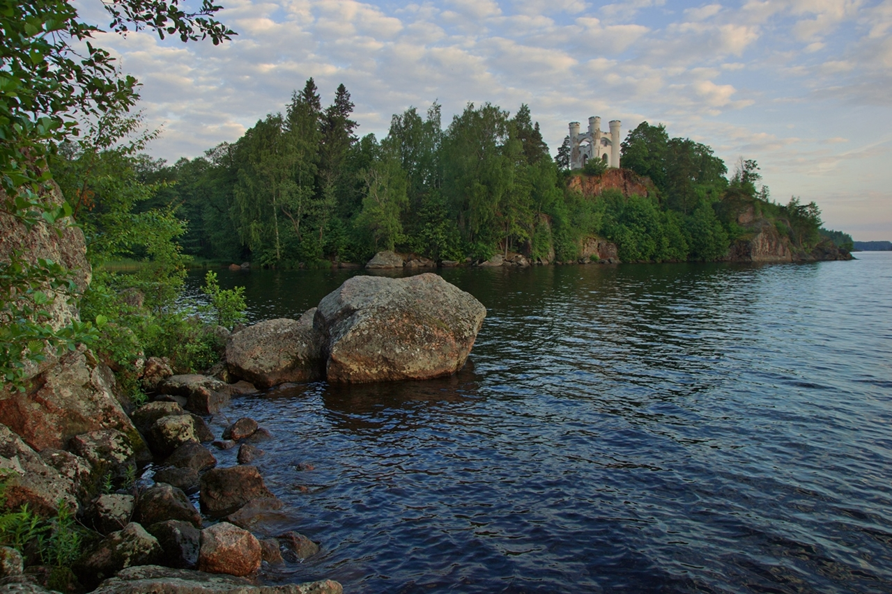 The city of Vyborg and the mon repos Park 31