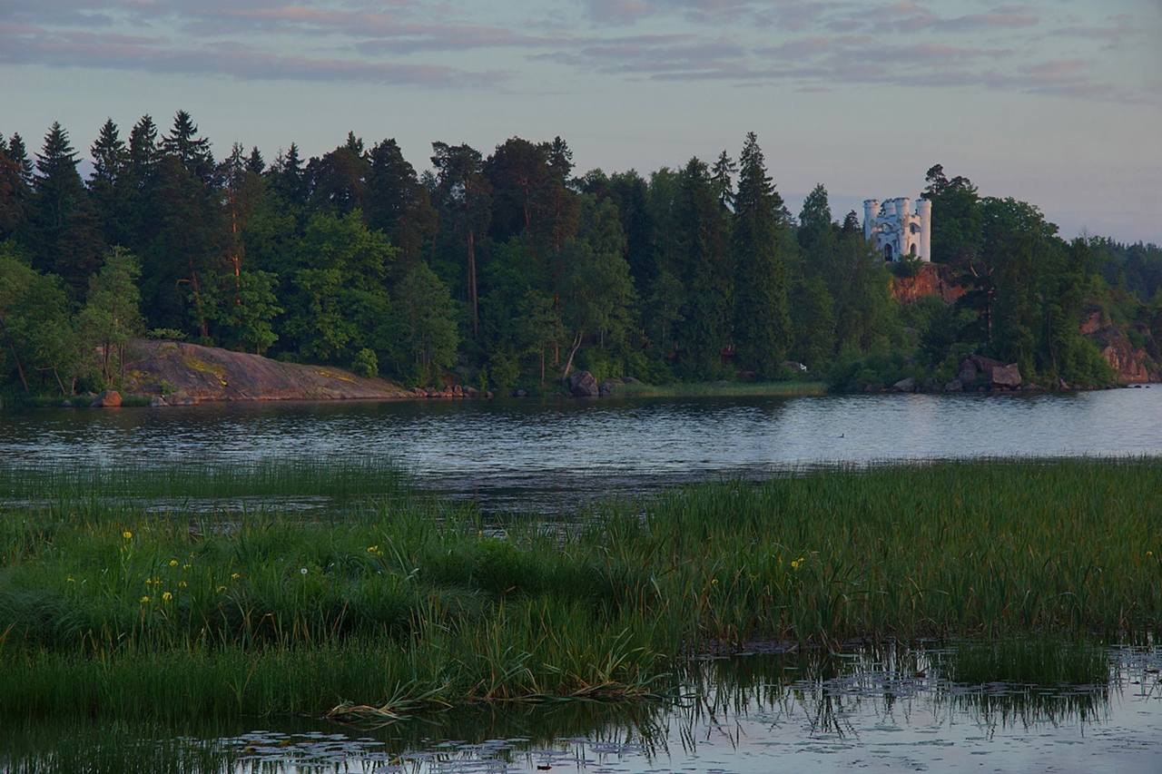 The city of Vyborg and the mon repos Park 32