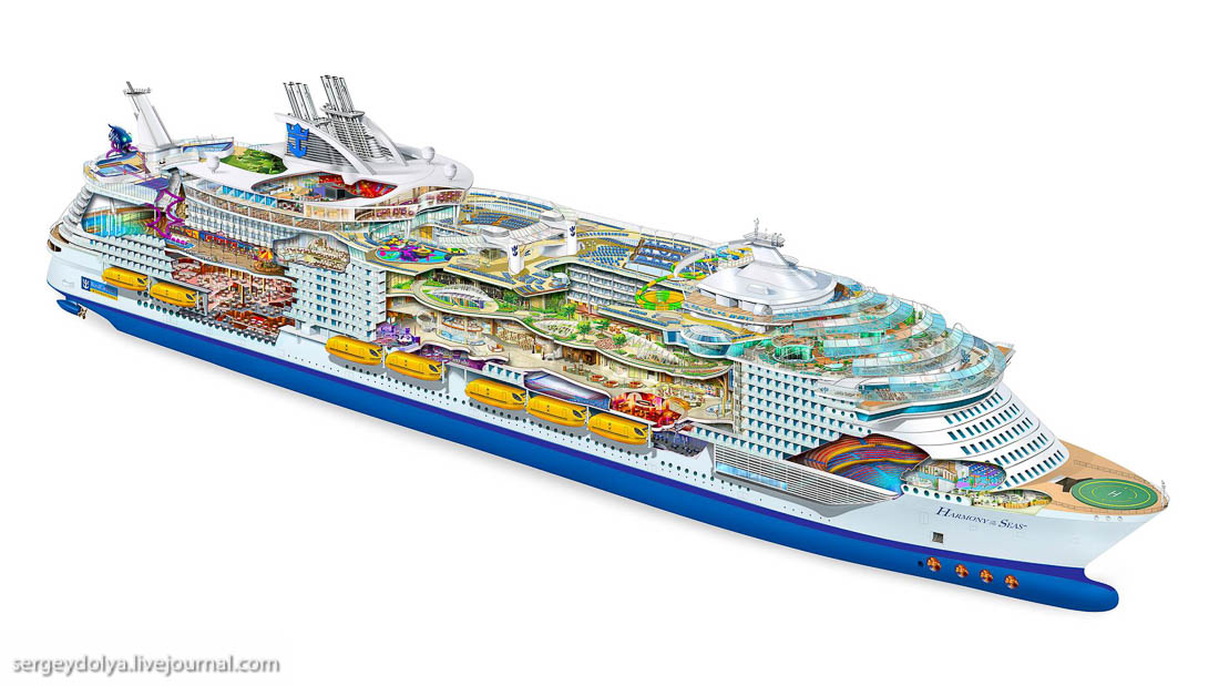 Maiden voyage of the biggest ship 02