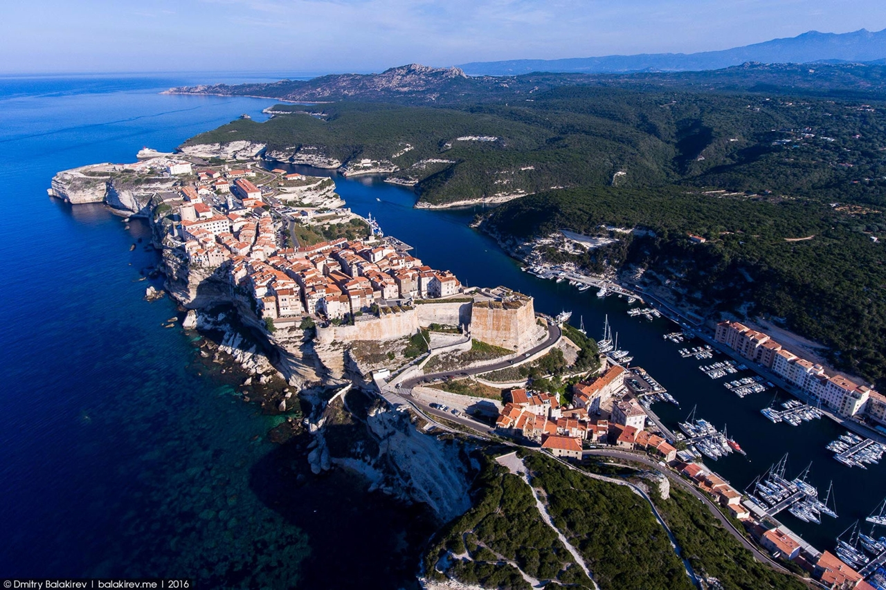 Stunning views of Corsica and Sardinia with a drone 07