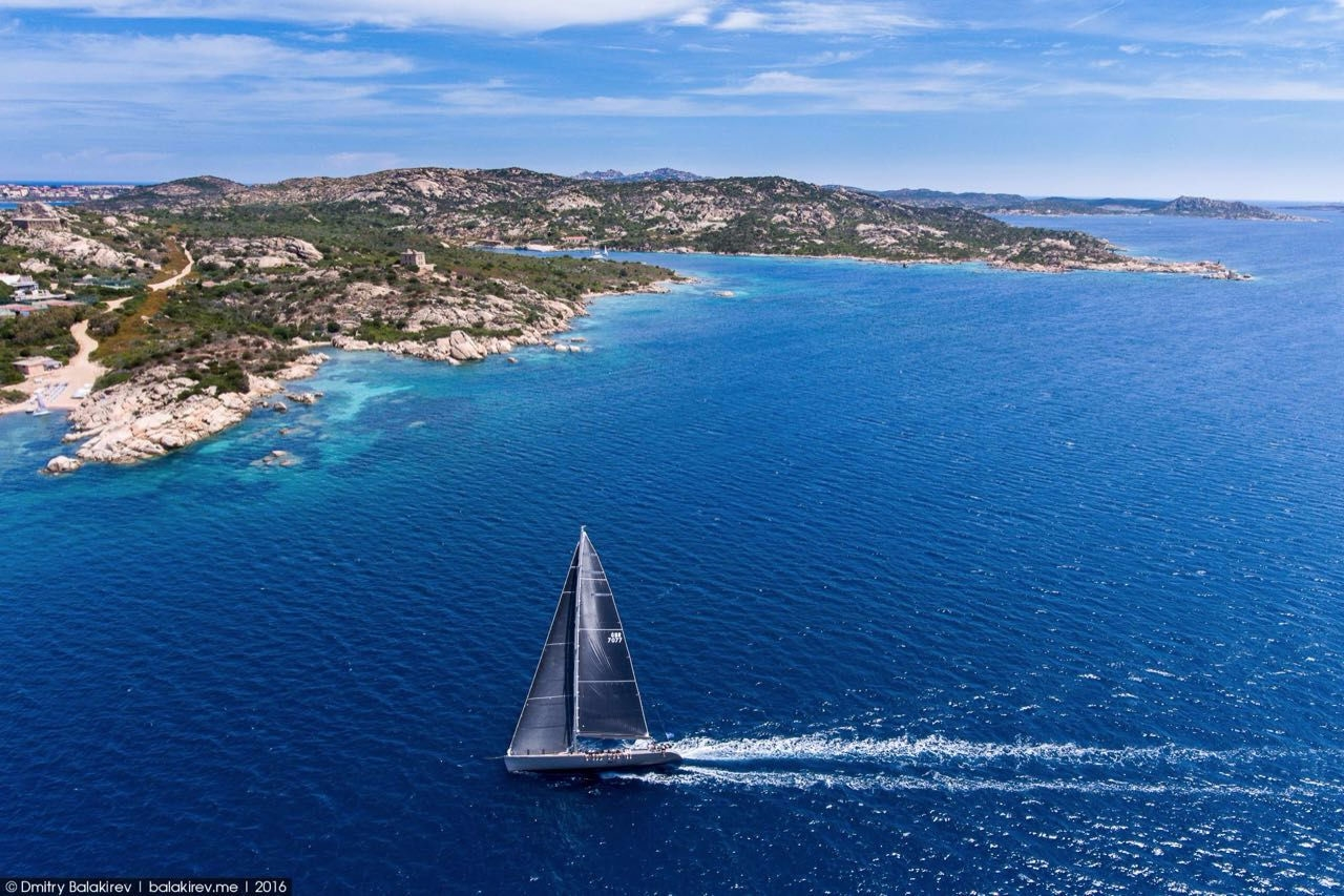 Stunning views of Corsica and Sardinia with a drone 13