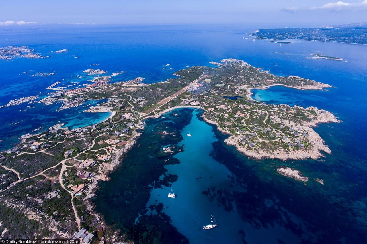 Stunning views of Corsica and Sardinia with a drone 16