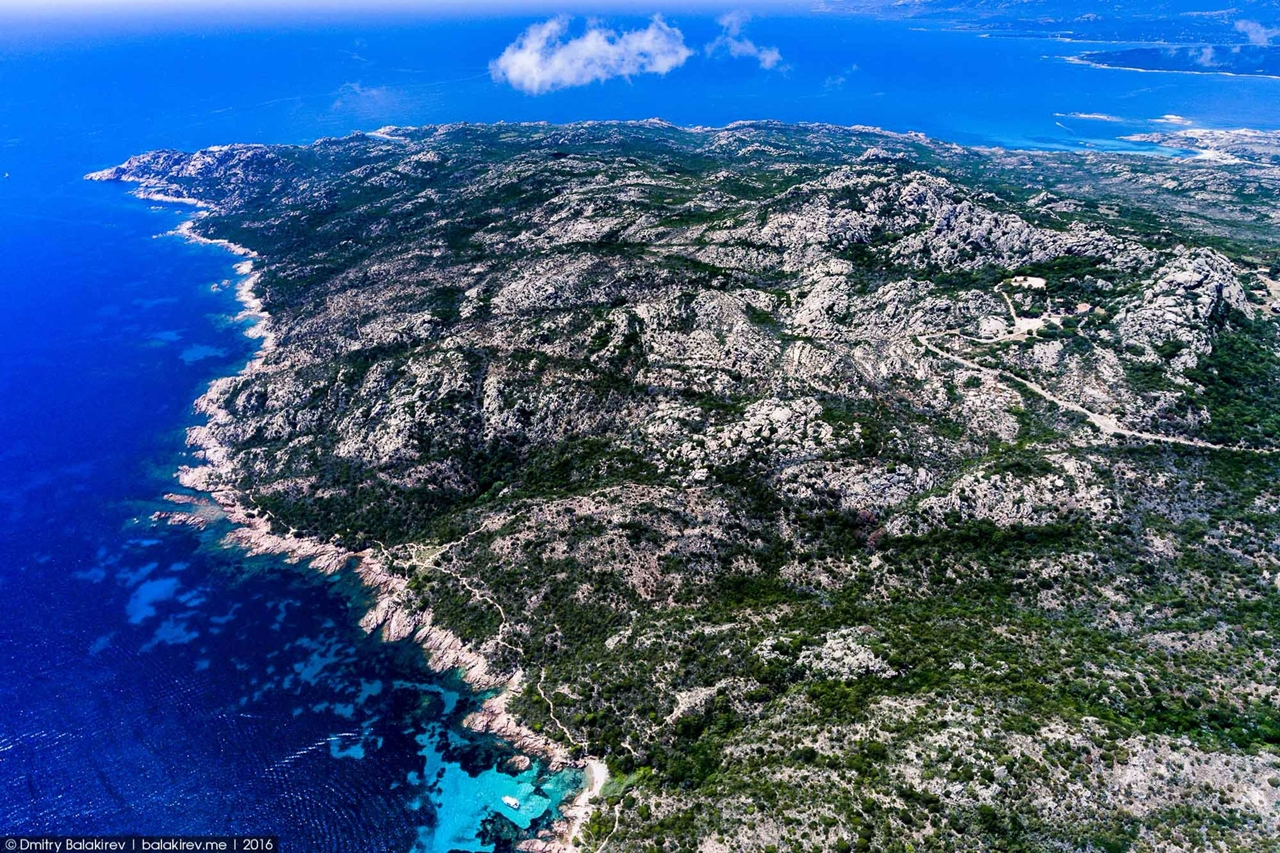 Stunning views of Corsica and Sardinia with a drone 18