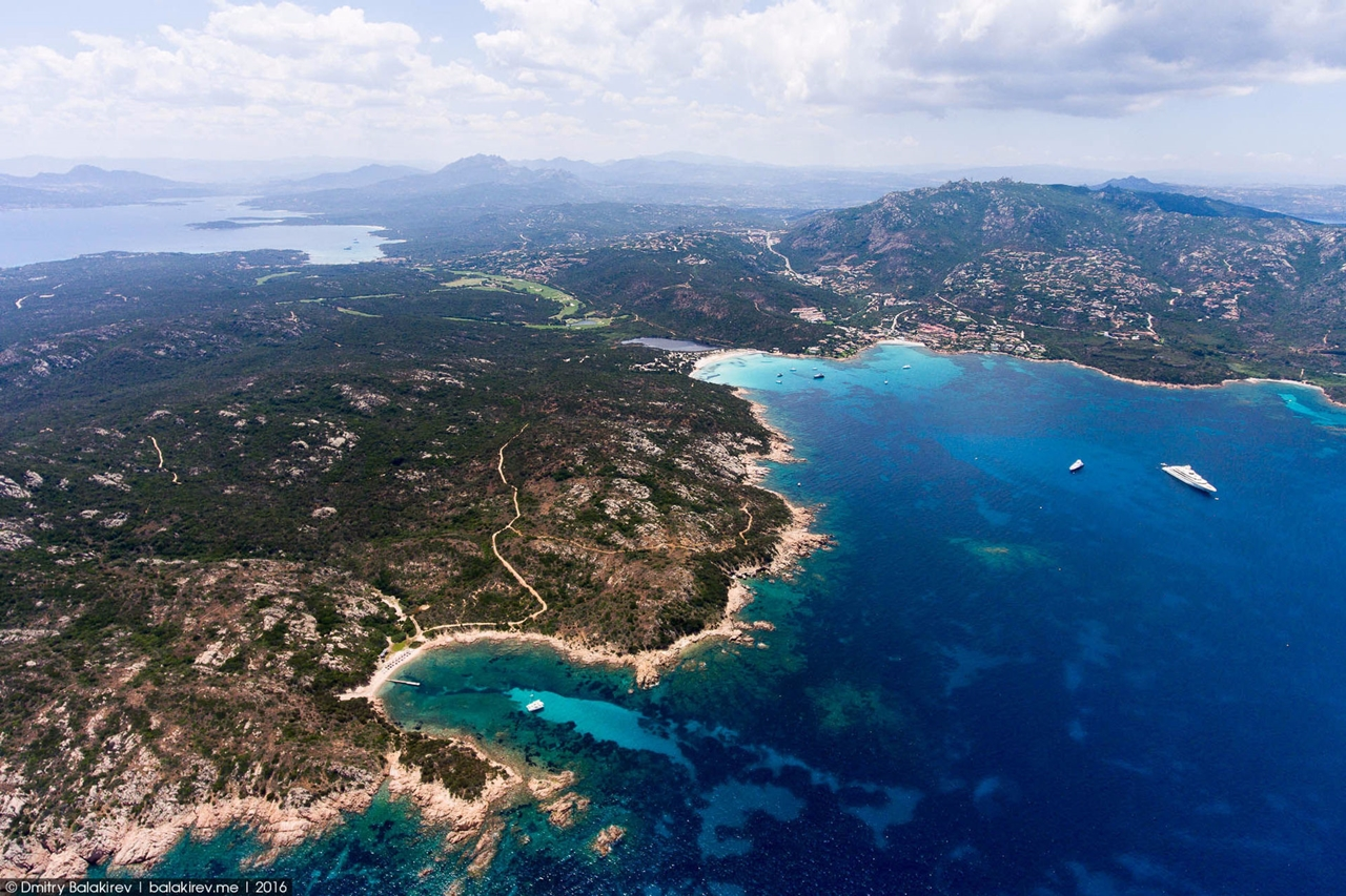 Stunning views of Corsica and Sardinia with a drone 21