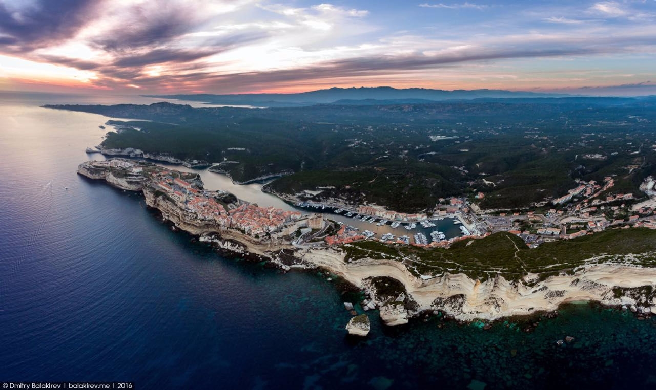 Stunning views of Corsica and Sardinia with a drone 24