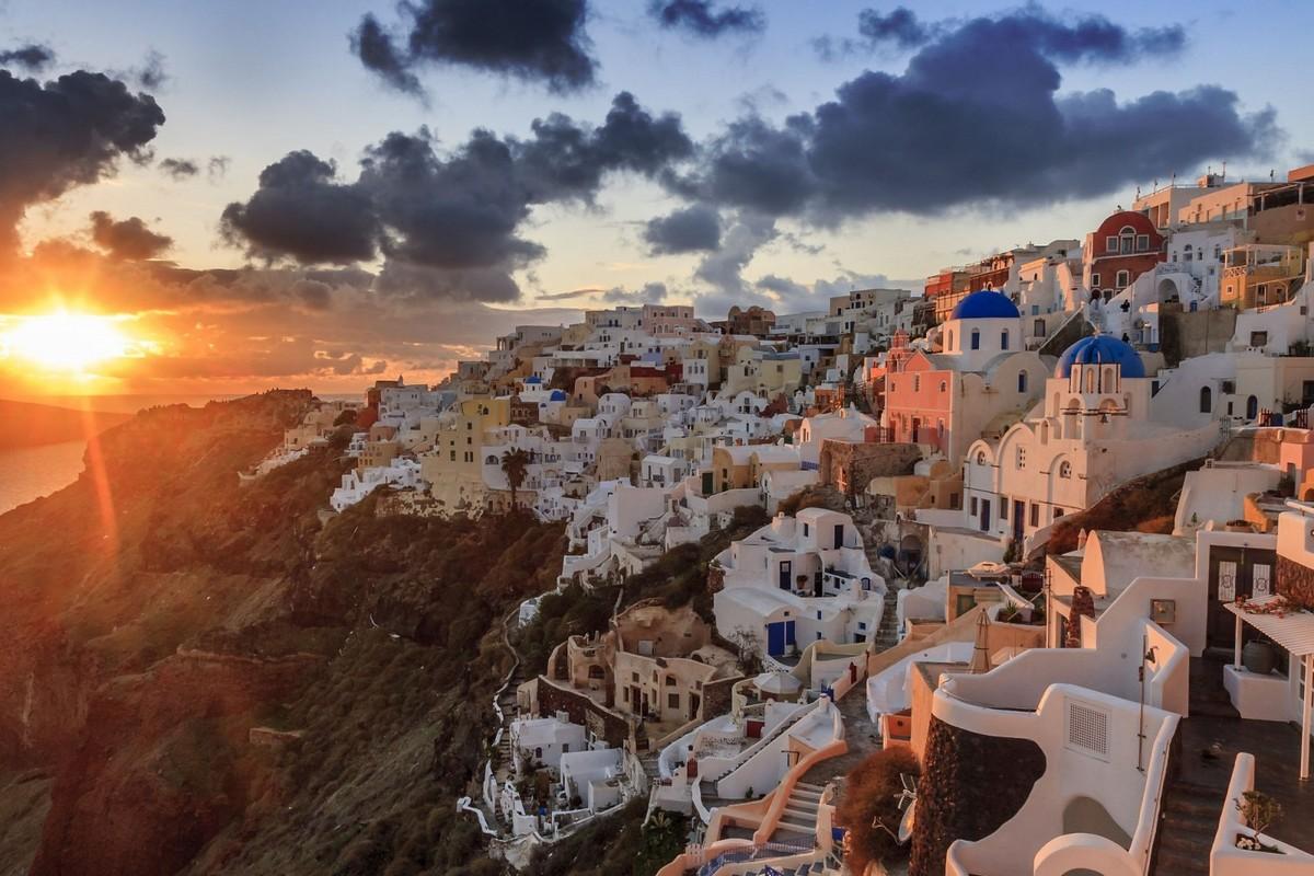 Волшебный Санторини: сказочный остров Греции