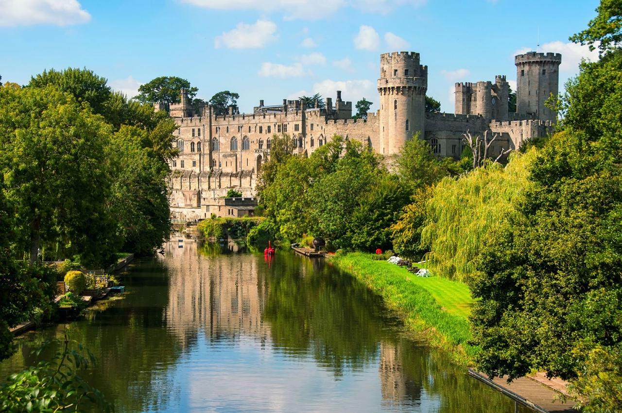 Живописная красота замков Великобритании
