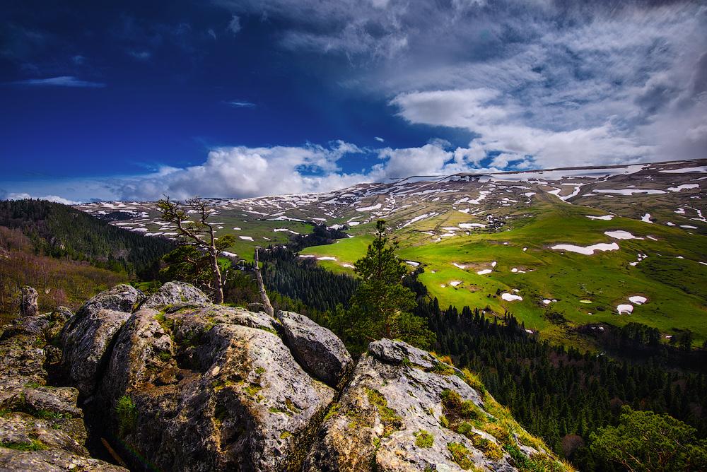 Западный Кавказ. Плато Лаго-Наки