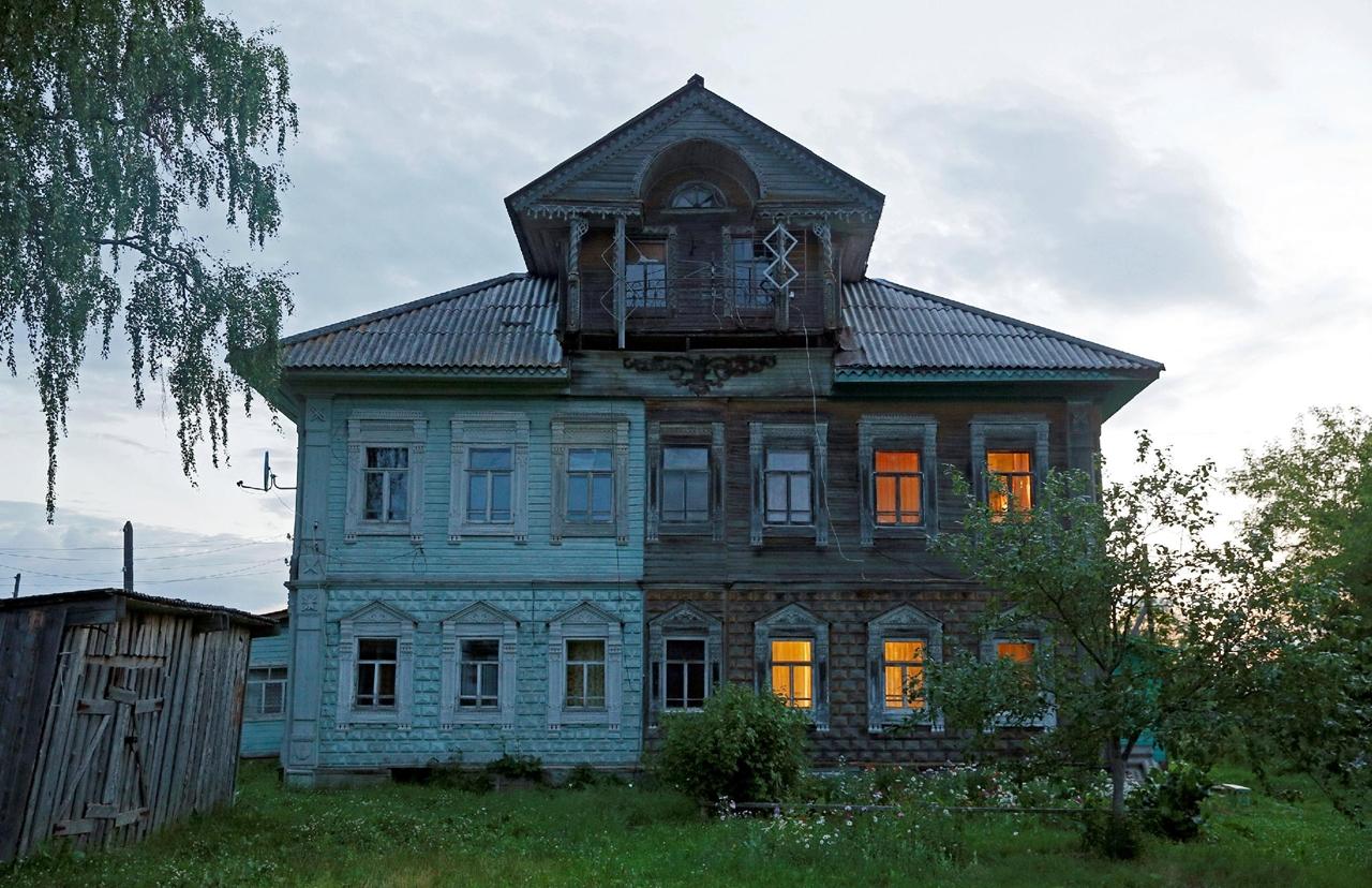 Остатки русского деревянного зодчества