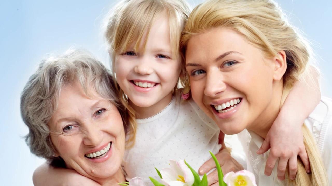 Поздравление маме от всей семьи в 55 летие