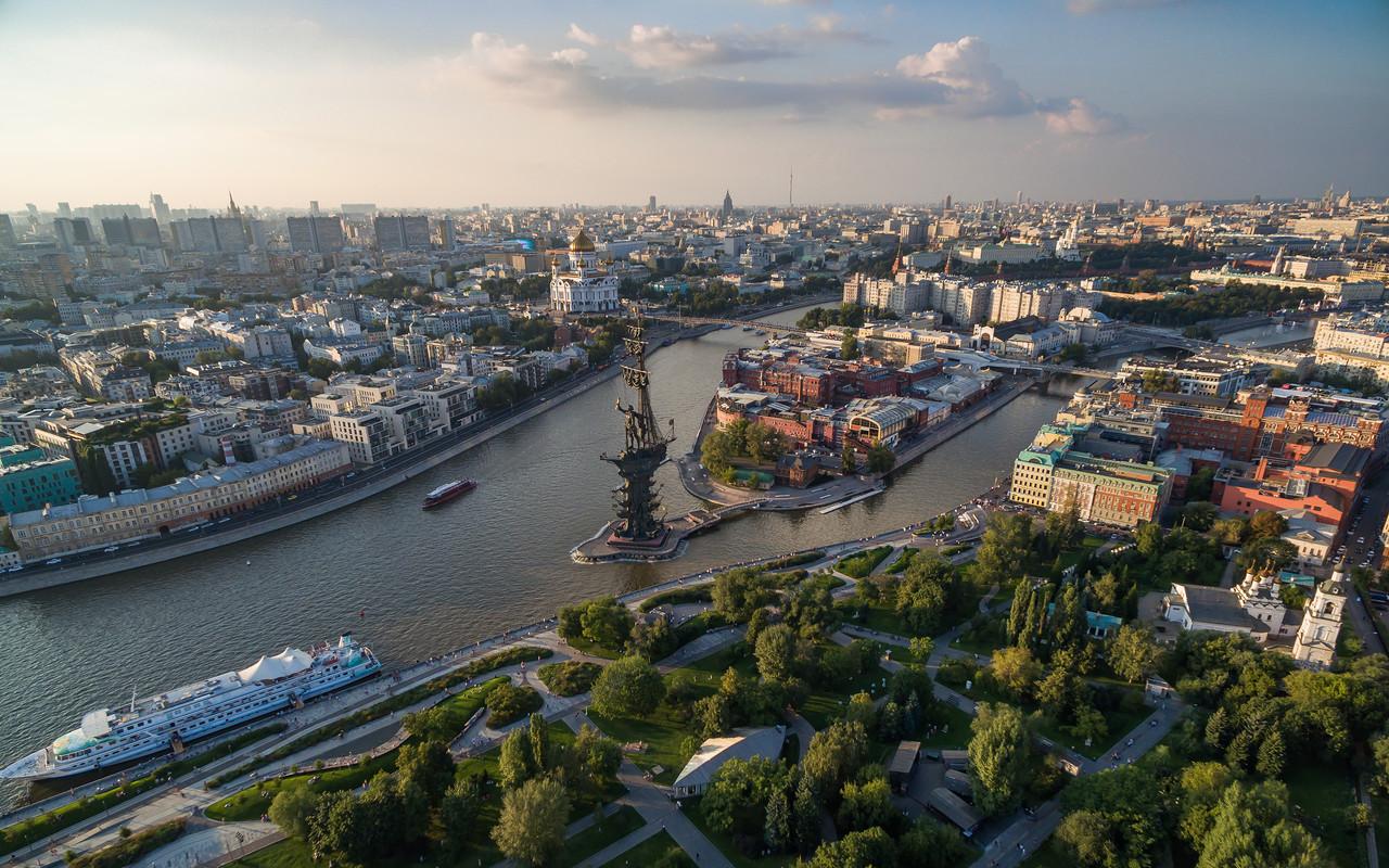 Аэрофотопрогулка над Москвой