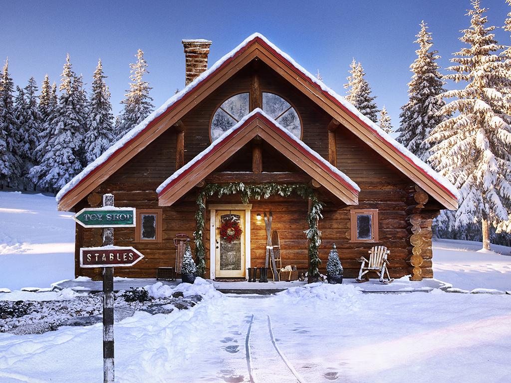 Не желаете приобрести домик Санта Клауса на Северном полюсе?