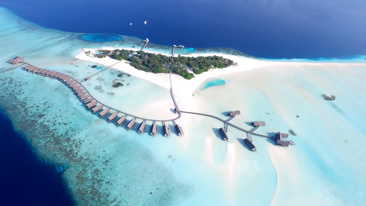 Красивое видео о Мальдивах