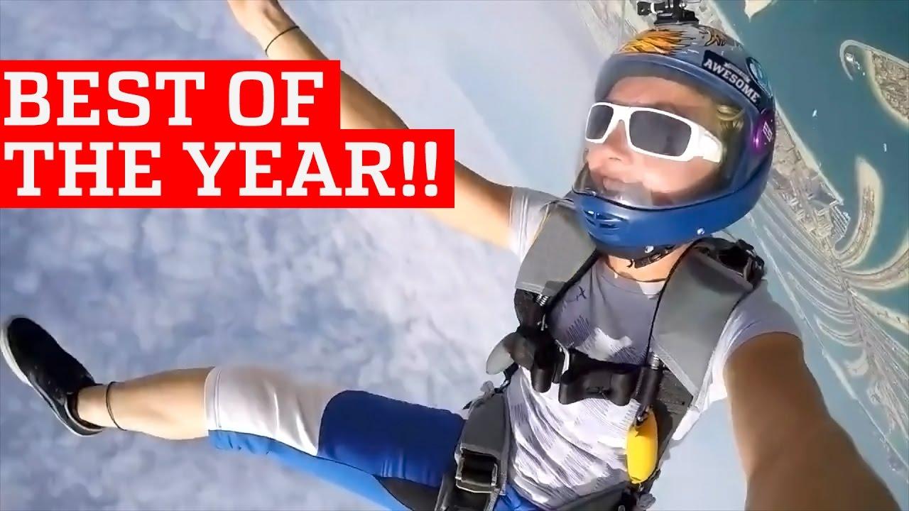 Удивительные люди: лучшие трюки за 2016 год