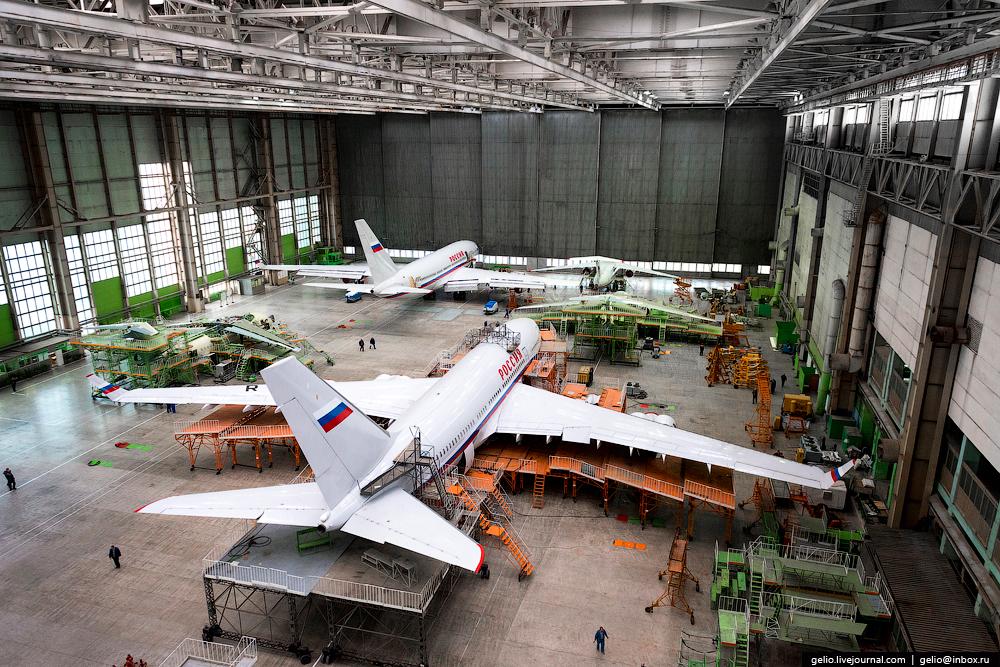 Производство главного самолёт России: президентский Ил-96