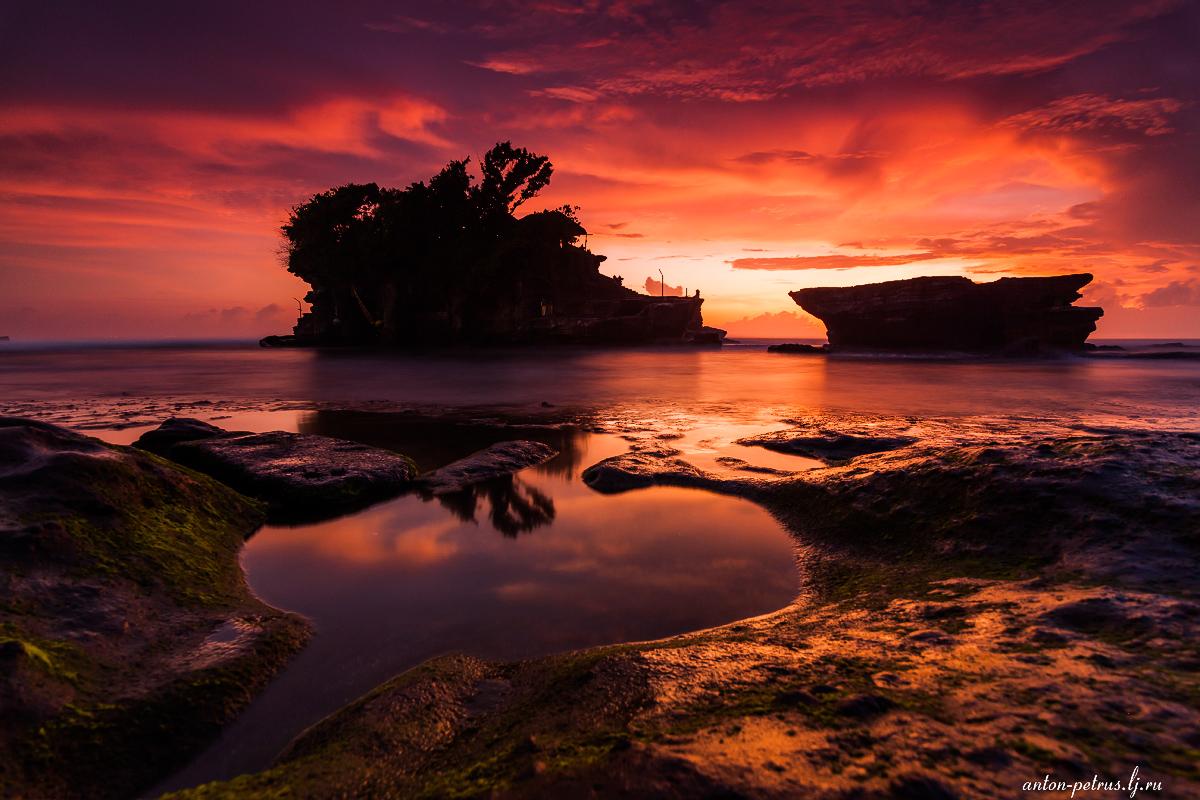 Магия тропических закатов