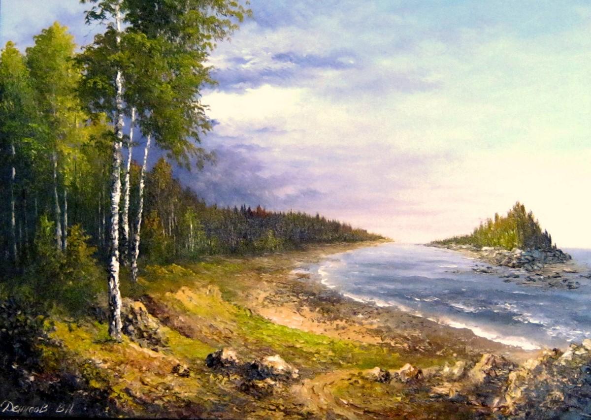 Природа карельского края в картинах Василия Денисова