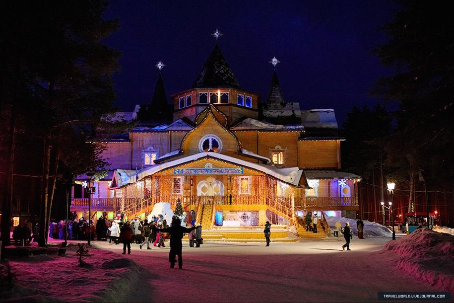 Путешествие в Великий Устюг на родину Деда Мороза